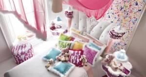 Гламурная спальня для маленькой принцессы