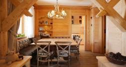 Деревянный дом в любимой деревушке