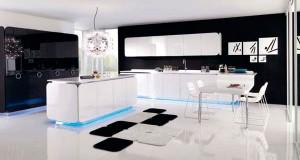 Современный дизайн сказочной кухни