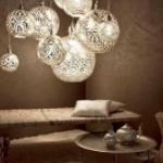 Восточный характер современных ламп