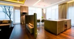 Модерн в просторах шикарных апартаментов