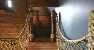 «Пиратский корабль» в детской комнате
